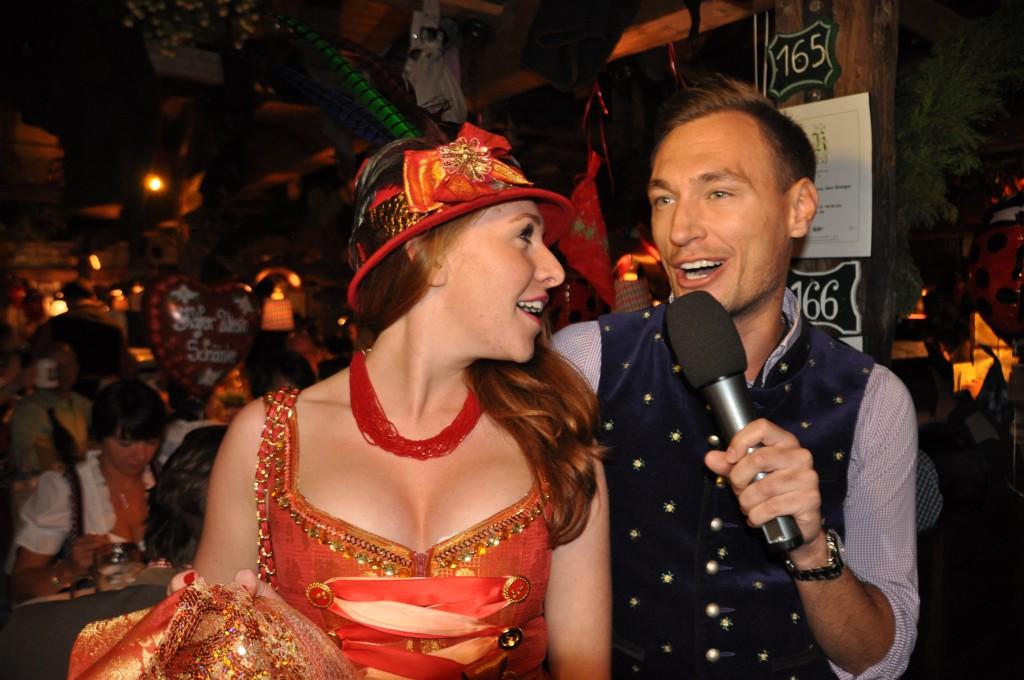 Georgina Fleur mit Thomas Gierling im Interview