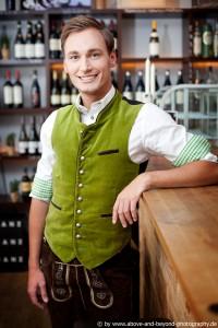 Moderator Thomas, 26, aus Oberbayern - der charmante Hahn im Korb!