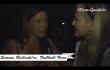 Simone Ballack im Interview mit Stephanie Günther in der Käfer Wies'n Schänke